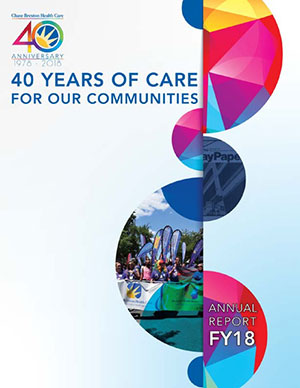 2018 Annual Review - 40 Years of Care For Our Communities